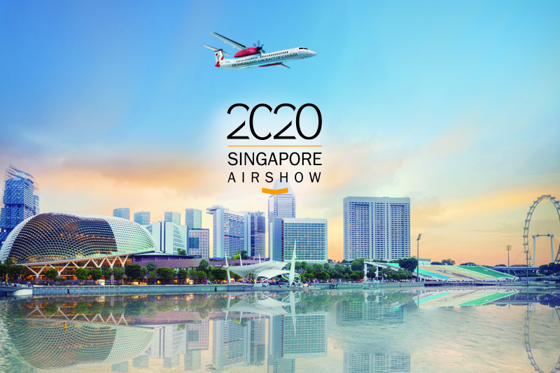 news: De Havilland Canada Team on the Way to Singapore Airshow 2020