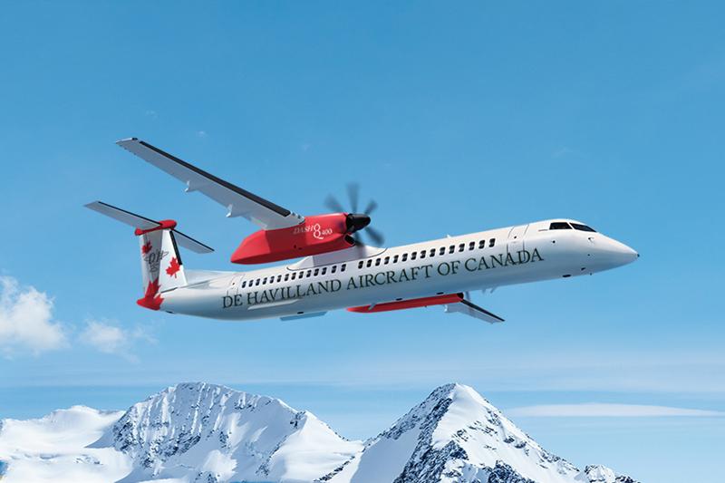 news: De Havilland Canada Announces Expliseat's Ultra-light Seats as an Optional Feature for the Dash 8-400 Aircraft