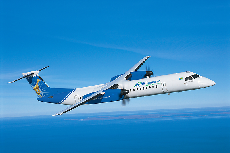 news: De Havilland Canada Books Its First Firm Order for Dash 8-400 Aircraft with Purchase Agreement from Air Tanzania