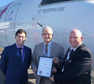news: De Havilland Aircraft of Canada Takes Flight