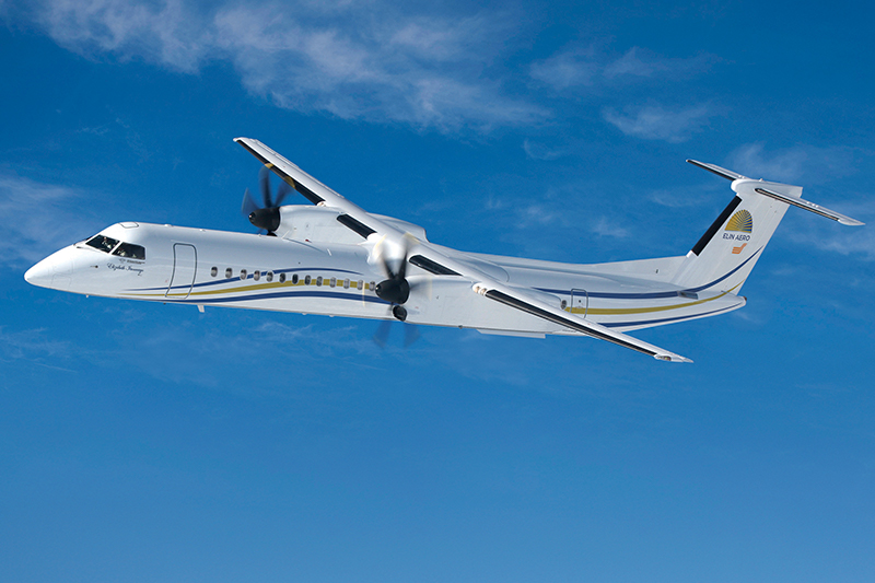 news: Elin Group Places Firm Order with De Havilland Canada for Three Dash 8-400 Aircraft